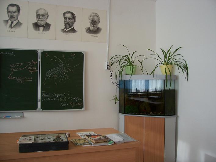 Декор кабинет биологии